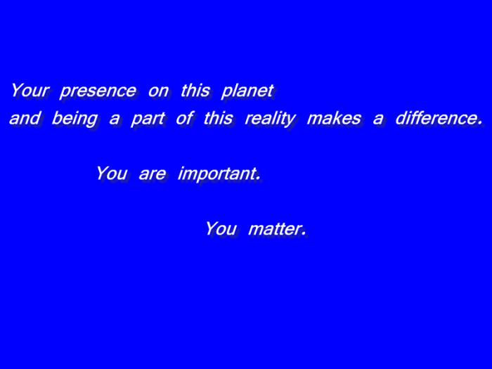 2x you matter