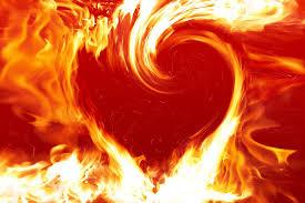 in a heart
