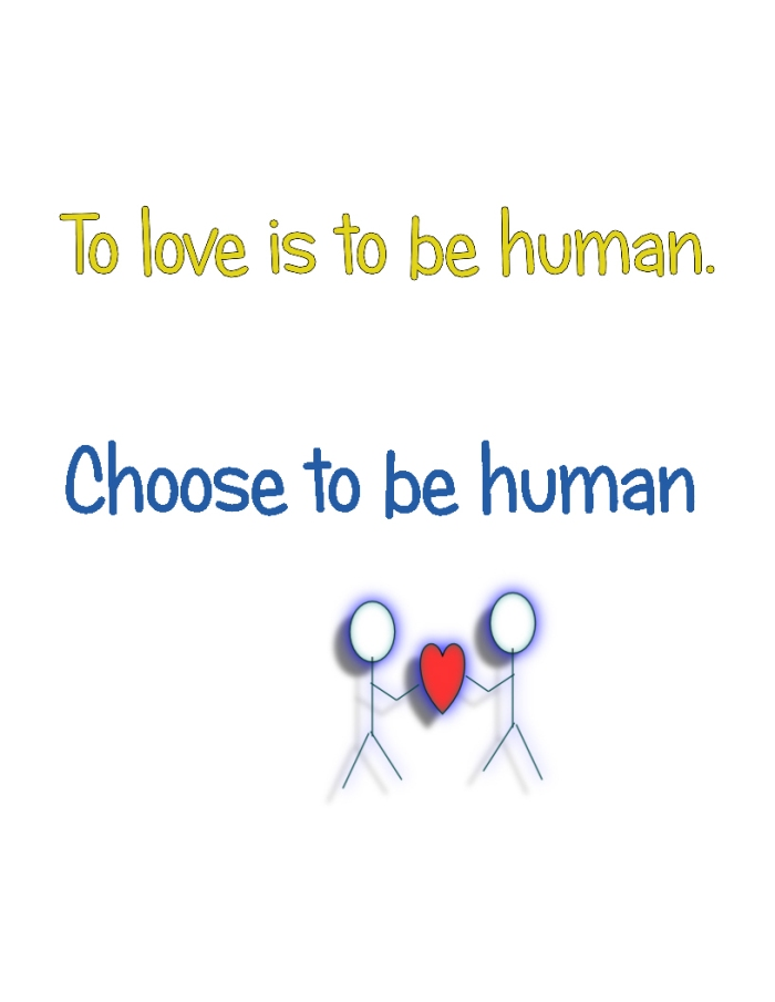 choose to be human